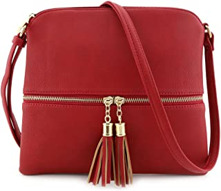 Laptop Bag for Women, Large Computer Bags for Women, Laptop Purse Fit Up to 15.6 Inch, Laptop Briefcase for Women with Padded Compartment, Professional Laptop Tote Work Bags, Navy Satchel Purses and Handbags for Women Shoulder Tote Bags Wallets Women's Soft Faux Leather Tote Shoulder Bag from Dreubea, Big Capacity Tassel Handbag Laptop Tote Bag, Large Women Work Bag Purse USB Teacher Bag Fits 15.6 Inch Laptop Lightweight Medium Crossbody Bag with Tassel