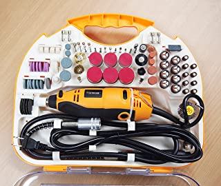 H.D. Rotary Tool Kit Variable Speed 210 PC Accessory Flex Shaft