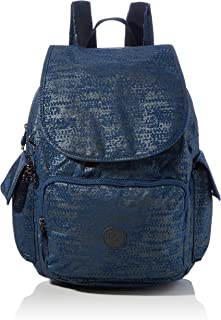 Kipling Womens City Pack Backpacks, Blue Eclipse Pr, 32x37x18.5 cm