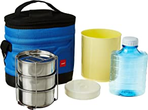 Cello Archo Plastic 3 Container Lunch Packs, Blue