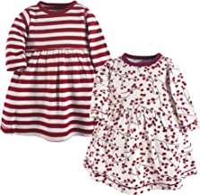 matching infant and girl dresses