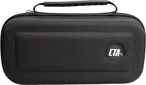 CTA Digital Hard-shell EVA Travel Case for Nintendo Switch (Textured)