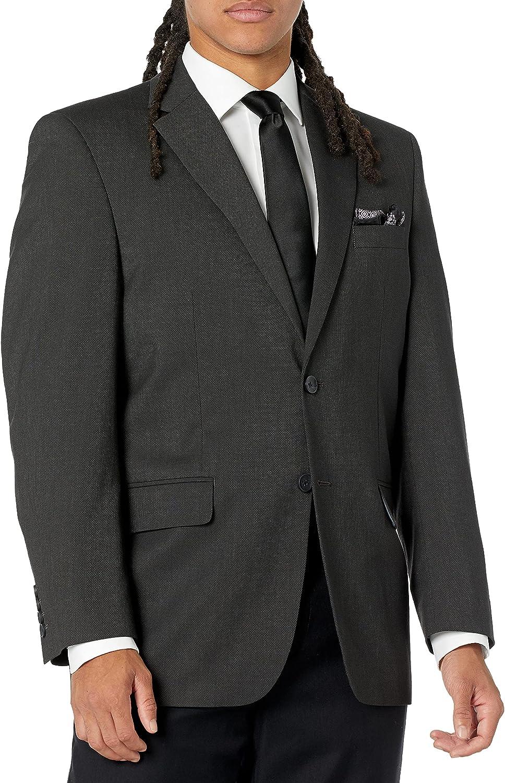 J.M. Haggar Men's 4-Way Stretch Diamond Weave Classic Fit Suit Separate Pant