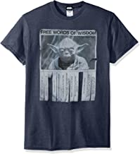 Star Wars Men's Words Of Wisdom T-Shirt