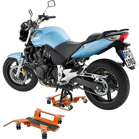 Hi Q Tools Montageständer Motorrad Ständer Motorradheber Rangierhilfe Bis 250kg Für Hauptständer Unisex Multipurpose Ganzjährig Stahl Orange Auto