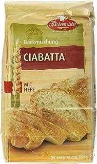 Bielmeier-Küchenmeister Brotbackmischung Ciabatta, 15er Pack 15 x 500g