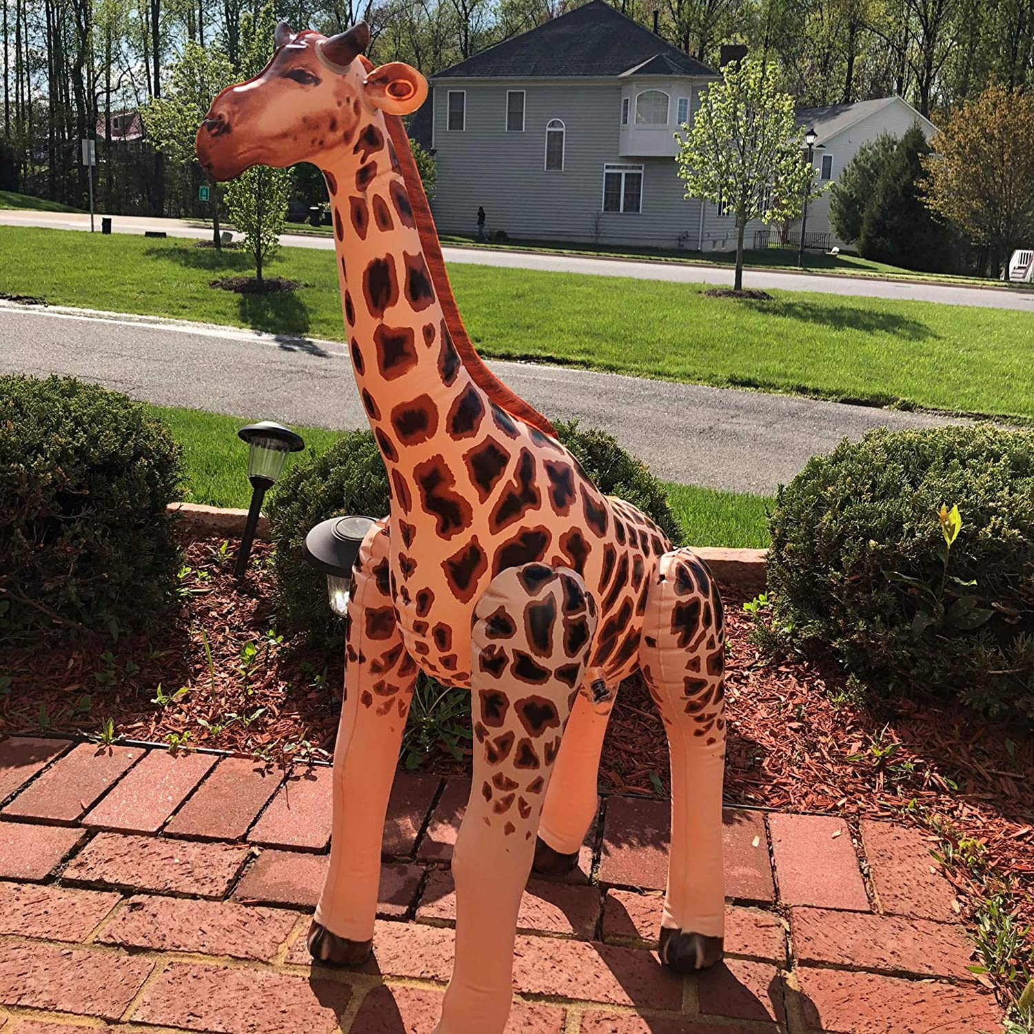 4. Inflatable Giraffe - Party Decoration