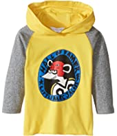 Little Marc Jacobs - Long Sleeve Hooded Tee Shirt with Hockey Mouse Player (Infant)