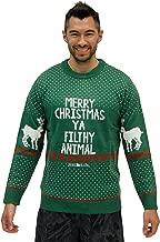 TV Store Ugly Christmas Sweater Home Alone Merry Christmas Ya Filthy Animal