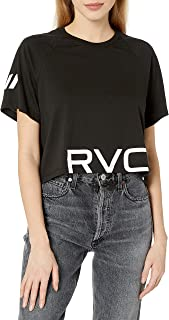 RVCA Women's VA Short Sleeve Crew Neck Shirt