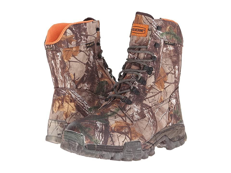 Wolverine King Caribou III 9 Inch Soft Toe Boot (Realtree Xtra) Men