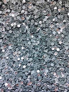 10,000pc bulk 3mm 10ss CLEAR Loose Rhinestone Hot Fix