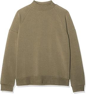 Amazon Brand - find. Women's Loose Fit High Neck Sweatshirt