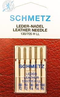75//11 Schmetz Aguja Surtido Oro Titanium Embroi Embroidery Stick Agujas St