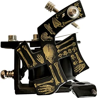 Premium Copper Wire Coils Tattoo Machine Liner & Shader, Brown, OTW-M065-1