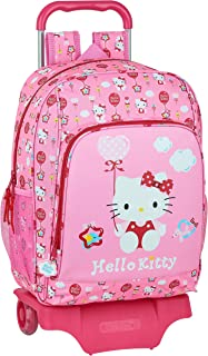Mochila Infantil con Carro 905 de Hello Kitty Balloon, 330x420x140mm