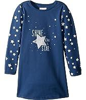 Pumpkin Patch Kids - Star Glitter Sweater Dress (Infant/Toddler/Little Kids/Big Kids)