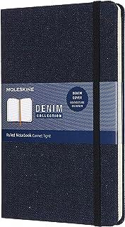 モレスキン ノート 限定版 コレクション デニム ノートブック 罫線 ラージ プロシアブルー LCDNB1QP060