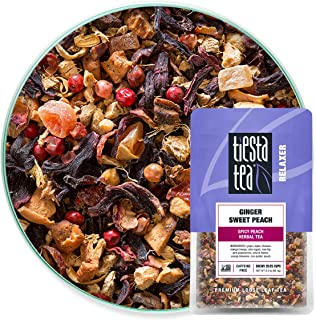 Sponsored Ad - Tiesta Tea - Ginger Sweet Peach, Loose Leaf Spicy Peach Herbal Tea, Non-Caffeinated, Hot & Iced Tea, 2.2 oz...