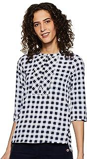 Styleville.in Women's Checkered Regular Fit Shirt