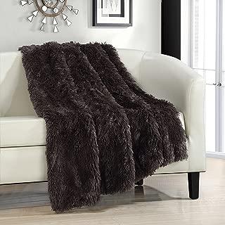 Chic Home Elana Cozy Super Soft Ultra Plush Decorative Shaggy Faux Fur Throw Blanket, 50