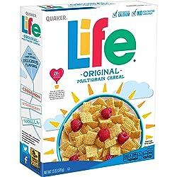 Quaker Life Cereal, 13 oz