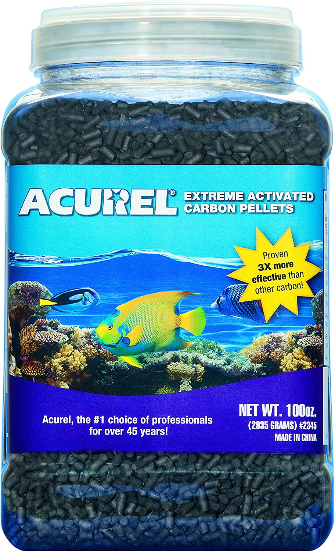 Acurel Extreme Activated Carbon Pellets, 100 oz
