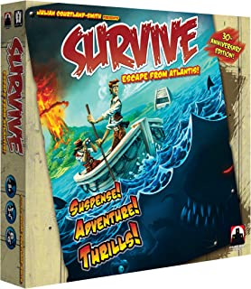 Stronghold Games Survive Escape from Atlantis 30th Anniversary Edition