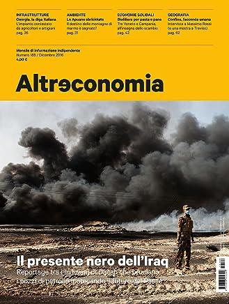 Altreconomia 188 - Dicembre 2016: Il presente nero dellIraq