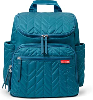 Skip Hop Forma Diaper Bag Backpack, Soft Multi-Function Baby Travel Bag with Changing Pad & Packing Cubes,  New Quilted Pattern