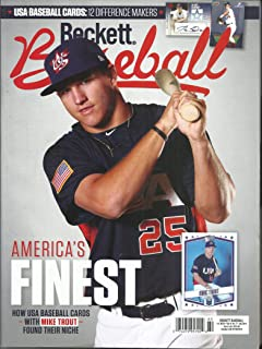 BECKETT BASEBALL MAGAZINE, AMERICA'S FINEST JULY, 2019 NO.07 VOL.19 (PLEASE NOTE: ALL THESE MAGAZINES ARE PET & SMOKE FREE MAGAZINES. NO ADDRESS LABEL. FRESH FROM NEWSSTAND) (SINGLE ISSUE MAGAZINE)