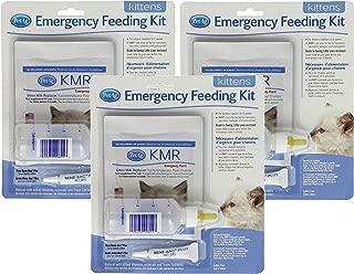 PetAg Kitten Milk Replacer (KMR) Emergency Feeding Kit (3 Pack)