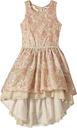 Nanette Lepore Kids - Novelty Lurex Mesh Dress with Jewels (Toddler/Little Kids)