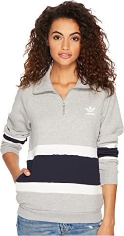 adidas Originals - 1/2 Zip Sweater