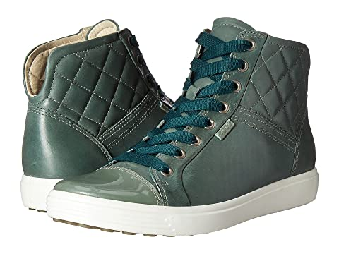 ECCO Soft 7 Quilted High Top 8Tlrh