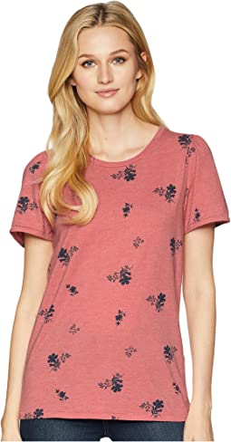All Over Floral Print Tee