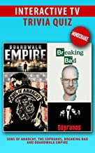 Interactive TV Trivia Quiz Vol. 1 - Sons of Anarchy, The Sopranos, Breaking Bad and Boardwalk Empire (English Edition)