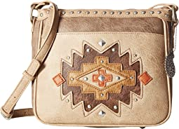 American West - Earth Bound Zip Top Crossbody
