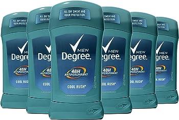 6-Count Degree Men Dry Protection Antiperspirant Deodorant (2.7oz)