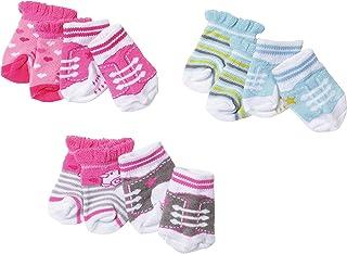 BABY born Socks, 2 pack Calcetines de muñeca - Accesorios para muñecas (2 pack, Calcetines de muñeca, 3 año(s), Multicolor, 43 cm, Chica, 2 pieza(s)) , color/modelo surtido