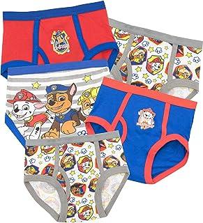 Paw Patrol Ropa Interior para niños La Patrulla Canina - Paquete de 5