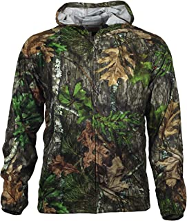 Gamehide Unisex Deer Camp Woodland Fleece Full Zip Hoodie Blaze Orange,MD