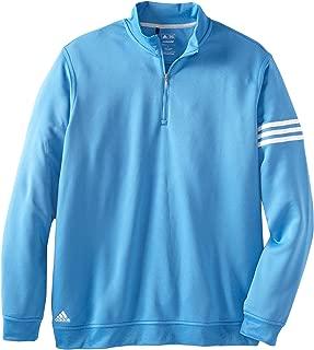adidas Golf Men's Climalite Long Sleeve/Layering 3-Stripe Pullover