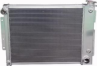 ZC337 3 Rows All Aluminum Radiator Fit 1967-1969 Chevy Camaro/Pontiac Firebird 21