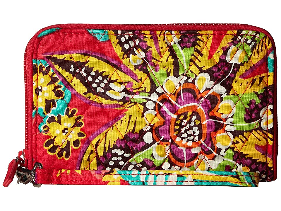 Vera Bradley RFID Grab Go Wristlet (Rumba) Wristlet Handbags