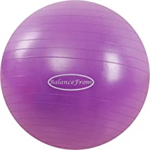 BalanceFrom Anti-Burst and Slip Resistant Exercise Ball Yoga Ball Fitness Ball Birthing..
