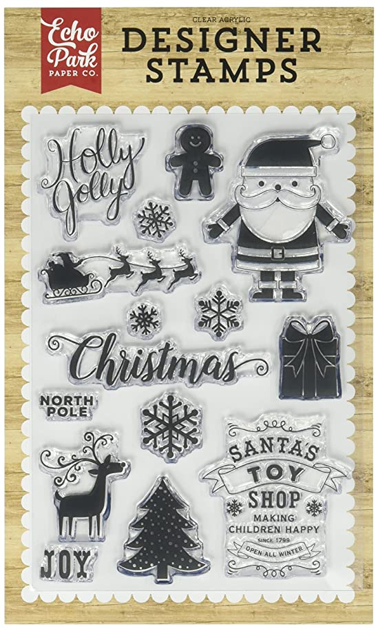 Echo Park Paper Company Holly Jolly Stamp