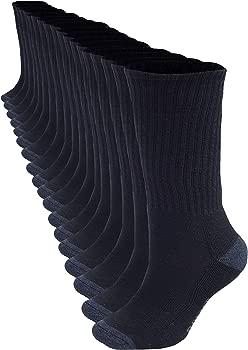 18-Pack Bolter Men's Crew Socks