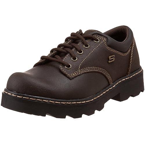 brown skechers