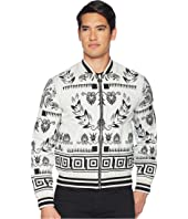 Versace Collection - Reversible Floral Print Bomber